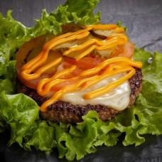 Доставка  Чизбургер в листьях из ФАРШ