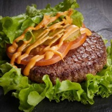 Доставка  Гамбургер в листьях из ФАРШ
