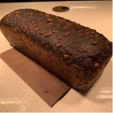 Доставка  Хлеб черный с семечками 300г из Кофемания