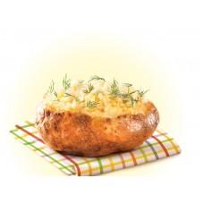 Доставка  Картофель с укропом и растительным маслом из Крошка картошка