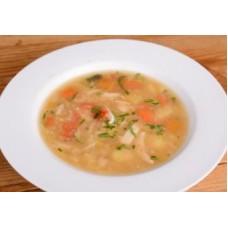 Доставка  Куриный суп с лапшой 390 мл из Хлеб Насущный