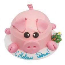 Доставка  Мини-торт Новогодний 750г из Баскин Роббинс