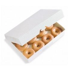 Доставка  Набор пончиков - Дюжина оригинальных рингов (12шт) из Krispy Kreme