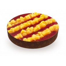 Доставка  Пирог Персик-Клубника из Тирольские пироги