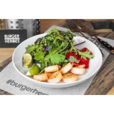 Доставка  Салат с креветками 260г из Burger Heroes
