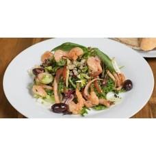Доставка  Салат с креветками и кальмарами из Хлеб Насущный