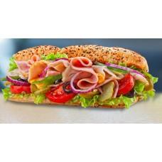 Доставка  Сэндвич Индейка и ветчина из Glow Subs
