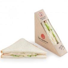 Доставка  Сэндвич с куриной ветчиной из Три правила