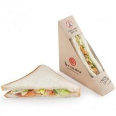 Доставка  Сэндвич с лососем из Три правила