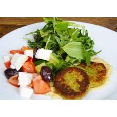 Доставка  Средиземноморский салат с домашним фалафелем из Хлеб Насущный
