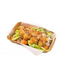 Доставка  Теплый фиш салат из BB&Burgers