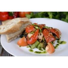 Доставка  Теплый салат с индейкой из Хлеб Насущный