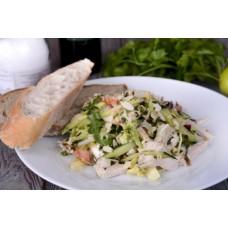 Доставка  Теплый салат с курицей из Хлеб Насущный