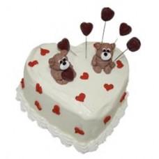 Доставка  Торт Маленькое сердечко 650г из Баскин Роббинс