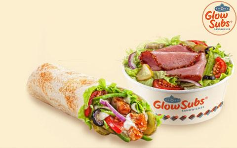Заказать доставку еды из Glow Subs