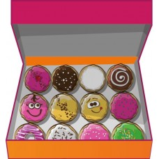 Доставка  12 ДОНАТОВ  ассорти из Dunkin Donuts