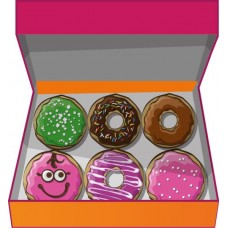 Доставка  6 ДОНАТОВ ассорти из Dunkin Donuts