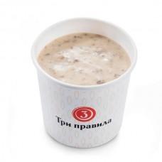 Доставка  Грибной крем-суп со сливками из Три правила