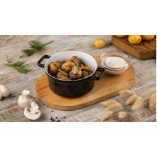 Доставка  Молодой картофель с белыми грибами и шампиньонами из Шоколадница