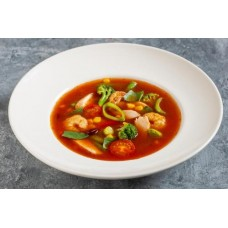 Доставка  Пикантный суп с креветками и курицей 300 мл из Кофе Хауз