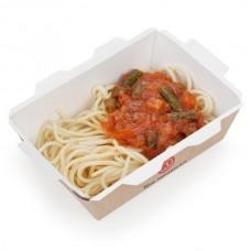Доставка  Спагетти с овощами по-итальянски из Три правила