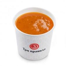 Доставка  Томатный крем-суп с сельдереем из Три правила