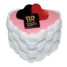 Доставка  Торт Нежное сердце 950г из Баскин Роббинс