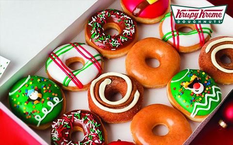 Заказать доставку еды из Krispy Kreme