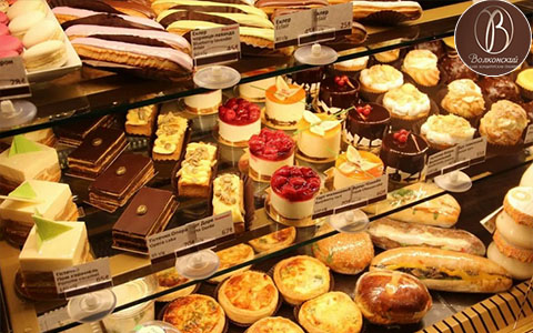 Заказать доставку еды из Пекарня Волконский
